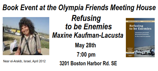 RefusingToBeEnemies--MaxineKaufman-Lacusta-OlympiaWA-May28-2016_facebook event